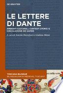Le lettere di Dante
