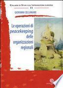 Le operazioni di peacekeeping delle organizzazioni regionali