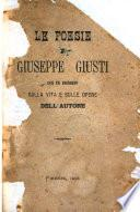 Le poesie di Giuseppe Giusti