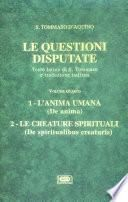 Le questioni disputate