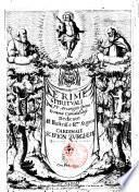 Le Rime spirituali del p.f. Arcangelo Spina eremita camaldolese. Dedicate all'illustriss. e r.mo signor cardinale Scipion Burghese