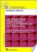 Le strategie time based nella corporate governance