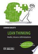 Lean Thinking. Analisi Misura Ottimizzazione