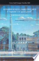 """Leonardo Sciascia / Mario Dell'Arco: il """"regnicolo"""" e il """"quarto grande"""""""