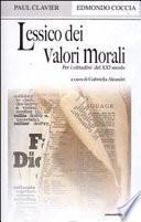 Lessico dei valori morali per i cittadini del XXI secolo