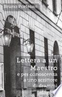 Lettera a un Maestro