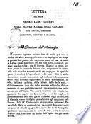 Lettera del prof. Sebastiano Ciampi sulla scoperta dell'isole Canarie fatta l'anno 1341, dai navigatori fiorentini, genovesi e spagnoli