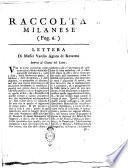 Lettera di messer Varesio Agiato di Rovereto intorno al giuoco del Lotto