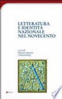 Letteratura e identità nazionale nel Novecento