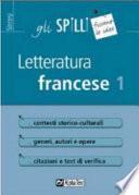 Letteratura francese 1