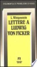 Lettere a Ludwig von Ficker