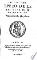 Lettere di M. Pietro Aretino