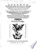 Lettura di Girolamo Ruscelli sopra un Sonetto d. March. della Terza a S. March. d. Vasto