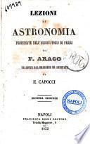 Lezioni di astronomia professate nell'osservatorio di Parigi da F. Arago