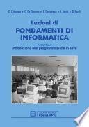 Lezioni di Fondamenti di Informatica