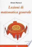 Lezioni di matematica generale