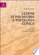 Lezioni di psichiatria e psicologia clinica