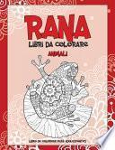 Libri da colorare - Libro de colorear para adolescentes - Animali - Rana
