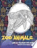 Libri da colorare per bambini - Fantastici motivi Mandala e relax - Zoo Animale
