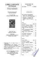 Libri e riviste d'Italia