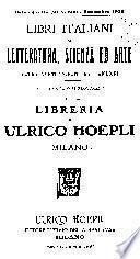 Libri italiani di letteratura, scienza ed arte