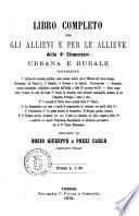 Libro completo per gli allievi e per le allieve della 4. elementare urbana e rurale proposto da Bosio Giuseppe e Pozzi Carlo