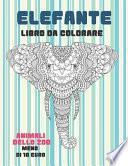 Libro da colorare - Meno di 10 euro - Animali dello zoo - Elefante
