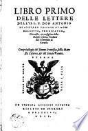Libro primo delle lettere dell'Antonio de Guevara