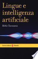 Lingue e intelligenza artificiale