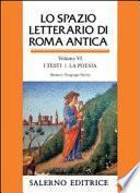Lo spazio letterario di Roma antica