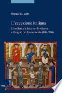 L'eccezione italiana