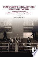 L'emigrazione intellettuale dall'Italia fascista