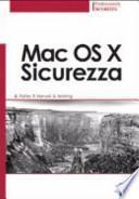 Mac OS X. Sicurezza