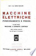 Macchine elettriche (funzionamento e prove).
