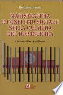 Magistratura e conflitto sociale nella Calabria del dopoguerra