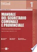 Manuale del segretario comunale e provinciale