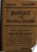 Manuale della provincia di Como per l'anno..