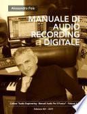 MANUALE DI AUDIO RECORDING DIGITALE