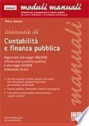 Manuale di contabilità pubblica e finanza pubblica
