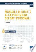 Manuale di diritto alla protezione dei dati personali