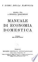 Manuale di economia domestica