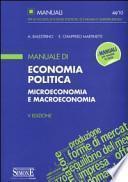 Manuale di economia politica. Microeconomia e macroeconomia