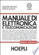 Manuale di elettronica e telecomunicazioni. Per gli Ist. Tecnici industriali