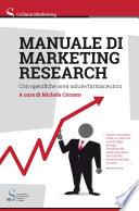 Manuale di marketing research