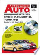 Manuale di riparazione elettronica Citroen/Toyota/Peugeot C1/Aygo/107 1.0 12V benzina e 1.4 Diesel - EAV23