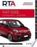 Manuale di riparazione meccanica Fiat 500L 1.3 Multijet 85 cv - RTA282