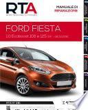 Manuale di riparazione meccanica Ford Fiesta 1.0 Ecoboost 100 e 125 cv - RTA281