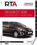 Manuale di riparazione meccanica Peugeot 308 1.6 e-HDi 112 e 115 cv - RTA285