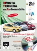 Manuale di riparazione meccanica Toyota/Peugeot/Citroen Aygo/107/C1 1.0 12V benzina e 1.4 Diesel - RTA179
