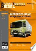 Manuale di riparazione Truck Mercedes Atego New 6 cilindri - RTD25